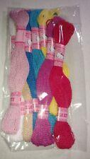 New Authentic Sanrio Hello Kitty multi colored thread 7 colors in all crafts