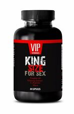 Male Enhancers - KING SIZE FOR SEX - Improve Sex Life - 1 Bottle, 60 Capsules