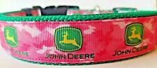 John Deere dog collar
