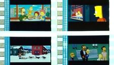 THE SIMPSONS MOVIE FILM CELL LOT OF 12 - * FREE USA SHIPPING *