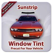 Precut Window Tint For Ford Escort 4 Door 1997-2002 (Sunstrip)