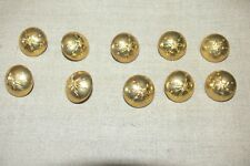 2 GM: Lot de 10  BOUTONS TRANSMISSIONS 25 mm  FRENCH SIGNAL CORPS BUTTONS WW2
