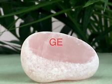 Rose Quartz Ema Egg Crystal Gemstone Specimen Window Seer Meditation Stone Reiki