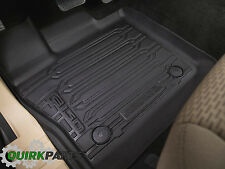 2015-2016 Ford F-150 Super Cab Floor Liner Tray Style Black All Weather Mat OEM