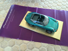 PORSCHE OFFICIAL PANAMERICANA 1:43 SCALE MODEL VIP GUEST GIFT 80th BIRTHDAY 1989