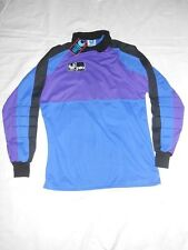 NOS Rare 1980s Vintage Goalkeeper Uhlsport Soccer Football Shirt Trikot Jersey L