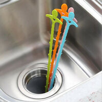 51cm Long Drain UnBlocker Stick Tool Hair Remover Sink Shower Bath Cleaner Snake