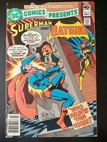⭐️ DC COMICS PRESENTS #19 Batgirl (1980 DC Comics) FN Book