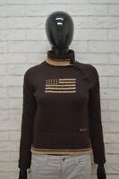 WOOLRICH Maglione Taglia XS Lana Cardigan Donna Pullover Sweater Woman Marrone
