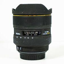 12-24mm Sigma EX DG F/4.5-5.6 HSM AF DG ASP Lens-IF Canon Fit EF
