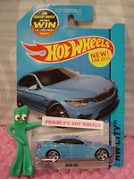 Case H 2015 Hot Wheels BMW M4 #24∞Blue; pr5 ∞HW City ∞Street Power∞New Model