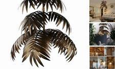 Coconut Leaves Chandelier,Tropical Hanging Light Fixtures,Length Adjustable