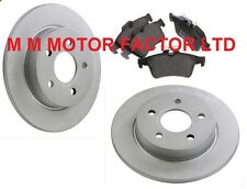 FORD FOCUS MK2 1.6 1.8 2.0 TDCi (05-) 265mm REAR BRAKE DISCS AND BRAKE PADS SET