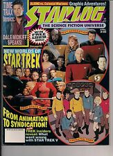 Starlog No.189 1993 TIME TRAX DALE MIDKIFF, STAR TREK