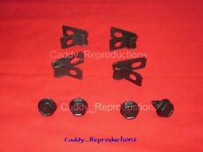 1941 - 1966 Cadillac Fuel Clips Clamps Brake Clamps - 4 pc set
