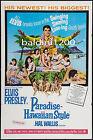 ELVIS PRESLEY - PARADISE, HAWAIIAN STYLE - QUALITY VINTAGE MOVIE/MUSIC POSTER
