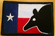 Larue Tactical Morale Patch - Texas Flag Dillo Head  - Brand New