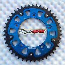 Supersprox Stealth Kettenrad Suzuki GSX-R 1000, GSXR 1000, 45 Z, 1800-45, blue