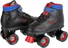 Chicago Boys Sidewalk Roller Skate - Black Youth Quad Skates J13