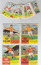 Holland co-op Fußball Sammelbilder 60er Jahre kompletter Satz