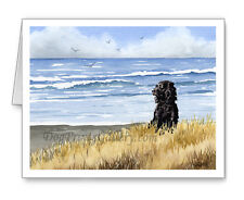 Boykin Spaniel at the Beach Set of 10 Note Cards With Envelopes