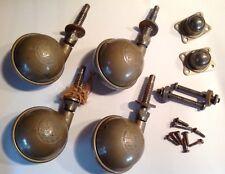 Archibald Kenrick Industrial? Castors X 4 & Other Assorted Hardware Lot