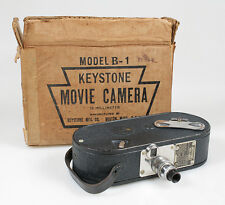 16MM ART DECO MOVIE CAMERA KEYSTONE MODEL B-1 W/ORIGINAL BOX