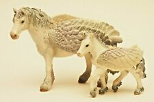 Pegasus & Foal by Schleich, horse/toy figure Retired