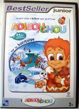 JEU PC CD-ROM  Adiboud'chou sur la Banquise