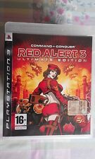 PS3 SONY PLAYSTATION 3 COMMAND & CONQUER : RED ALERT ULTIMATE EDITION - SONY -