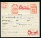 S1257) Francotyp AFS Stammkarte 1952 Berlin > Leimen Heidelberg ETERNIT