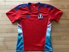 Italy Rugby Union Fir jersey shirt Adidas Mens Sz S Triple viva Italia