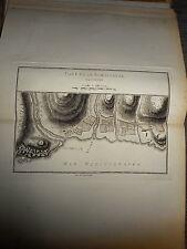 6 - CARTE MAP PLANS Campagne ITALIE 1745 & 1746 Camp BORDIGHERA VINTIMIGLIA 1775