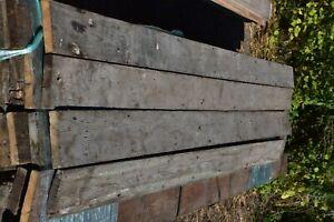 Reclaimed Victorian 6 inch pine floorboards