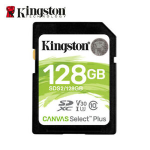 NEW Kingston SDS2 128GB Canvas Select Plus SDXC Memory Card Class 10 UHS-I U1