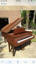 George Steck Duo Art 6' Player Grand Piano, Rebuilt, Very Nice, Check YouTube