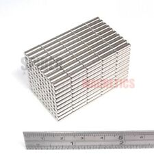 1000 Magnet Rods 3x10 mm Neodymium small craft reed switch magnet 3mm dia x 10mm