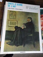 Whistler tart book grands peintres chef-d'oeuvre de l'art Whistler 108 livre
