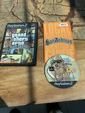 GRAND THEFT AUTO SAN ANDREAS PLAYSTATION 2 GAME (TESTED AND WORKING)  PAL 18