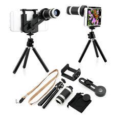 8 x fotocamera con zoom teleobiettivo telescopio W/ treppiede per 5 5S 6