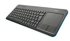 Trust 20961 RF Wireless schwarz Tastatur