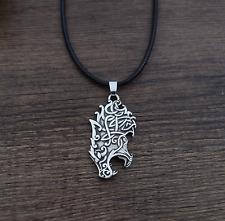 Celta Vikingo Lobo Cabeza Colgante Collar (fue £ 6.25 ahora £ 4.95)