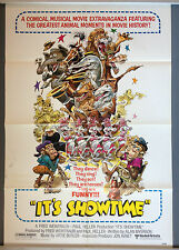 Cinema Poster: IT'S SHOWTIME 1976 (One Sheet) Rin Tin Tin Flipper Trigger