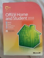 NEW Microsoft MS Office 2010 Home and Student Family Pack For 3PCs 3 INSTALLS