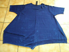 Rundholz Black Label, Big Shirt/túnica, talla S (os), jeans azul, neuw., Lagenlook sueño