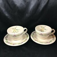 Pair of PFALTZGRAFF JAMBERRY Cup and Saucers