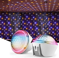 Star Projector Night Light LED Galaxy Sky Light Projection for Bedroom, Home The