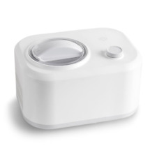 Springlane Eismaschine Eni Kompressor 1 L Edelstahl Joghurt Eiscreme Frozen rS