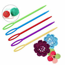 100 Pieces Plastic Darning Threading Weaving Sewing Needles for Kids Craft 7 LD