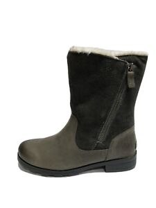 Sorel Women's Emelie, Foldover Gray Boot, Size 9M.